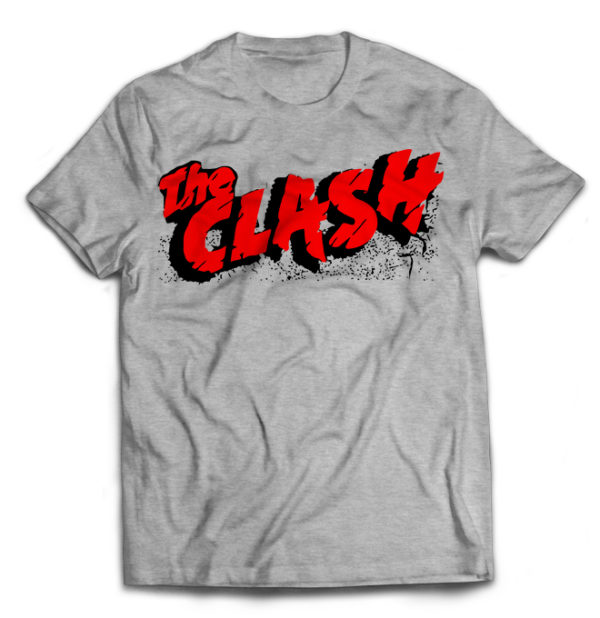 футболка серая Clash