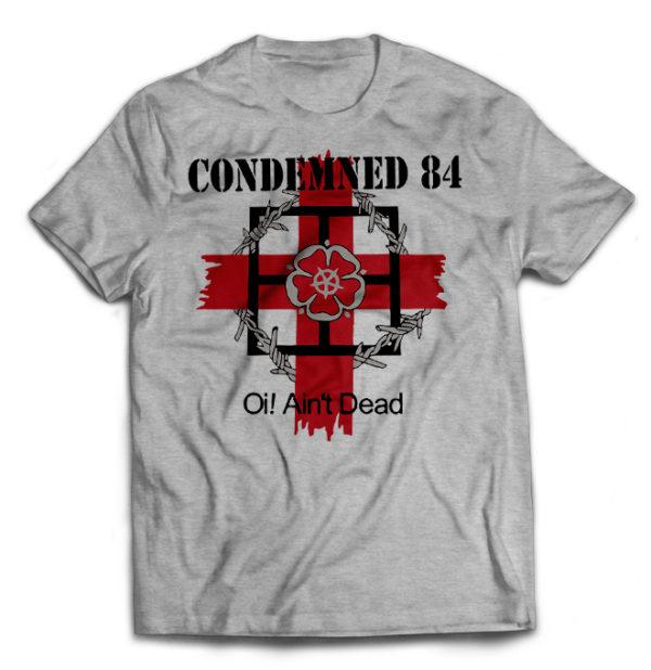 футболка серая Condemned 84