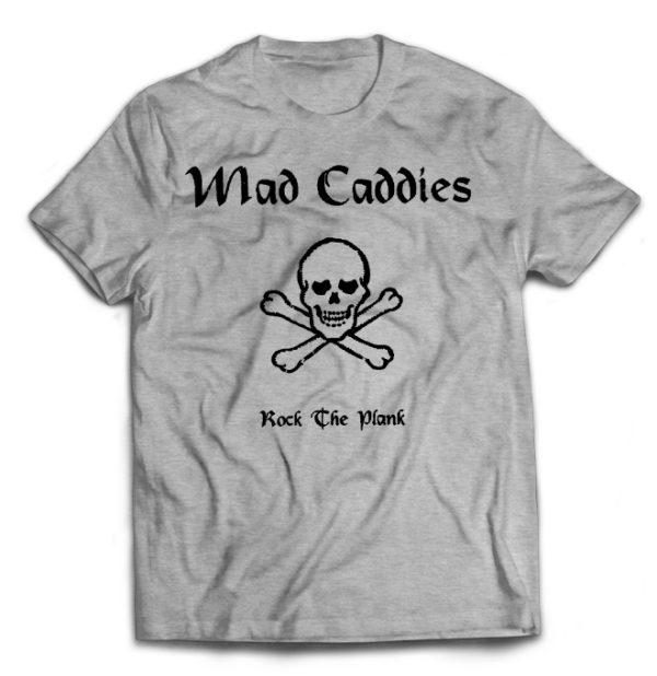 футболка серая Mad Caddis