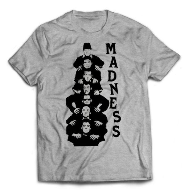 футболка серая Madness
