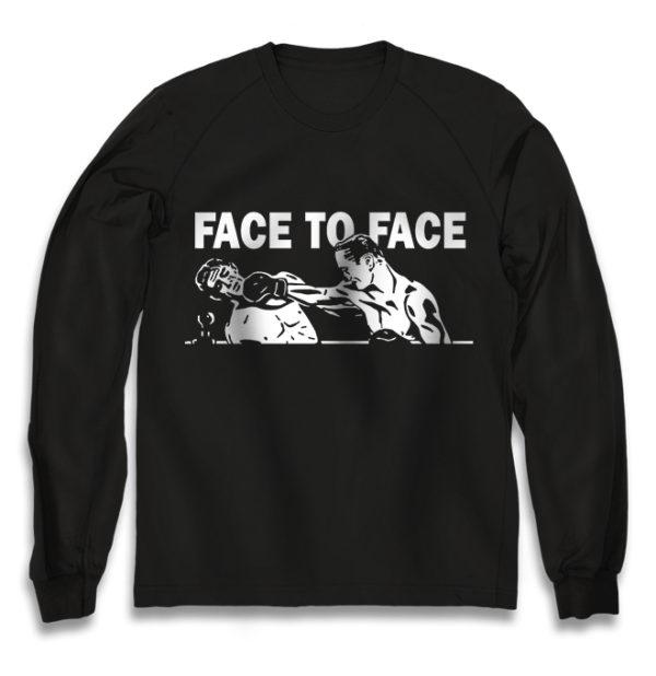 свитшот Face to face