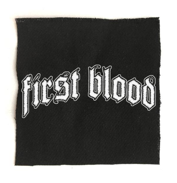нашивка First blood