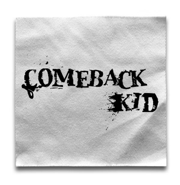 нашивка Comeback kid