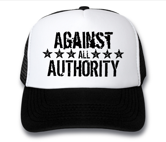 кепка Against All Authority