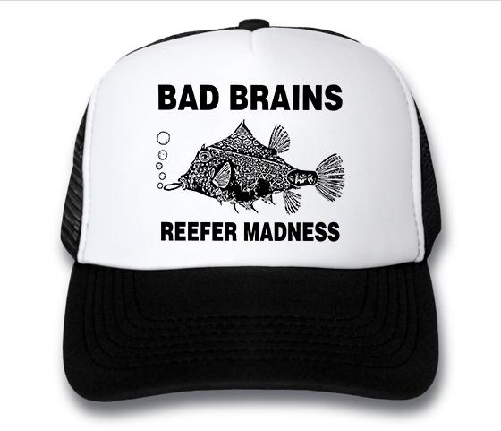 кепка Bad Brains