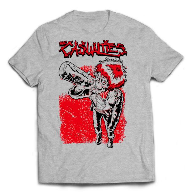 футболка серая Casualties