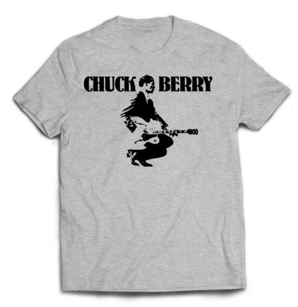 футболка серая Chuck Berry