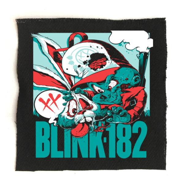нашивка Blink-182
