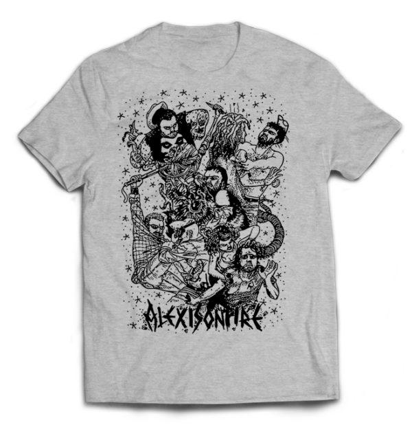 футболка серая Alexisonfire