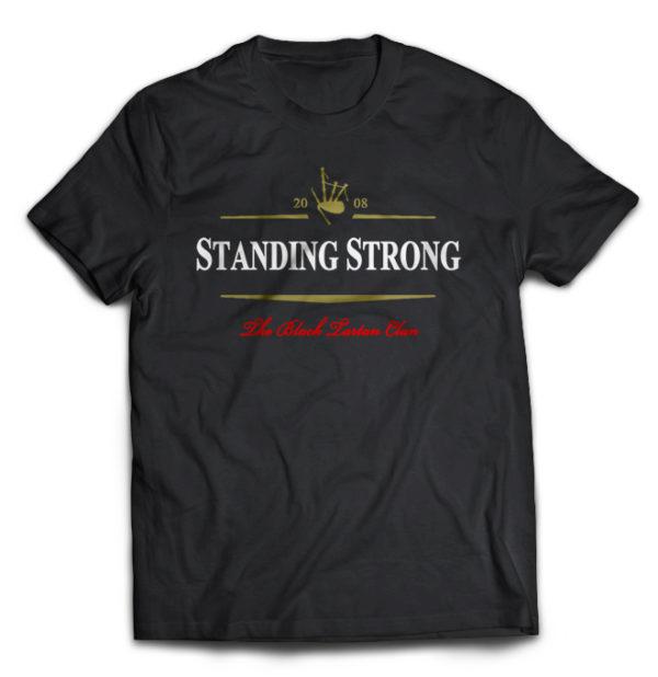 футболка Black Tartan Clan