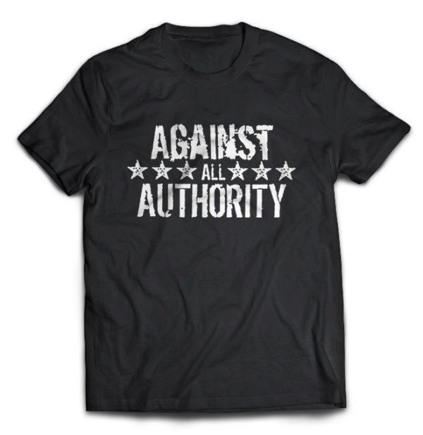 футболка Against All Authority