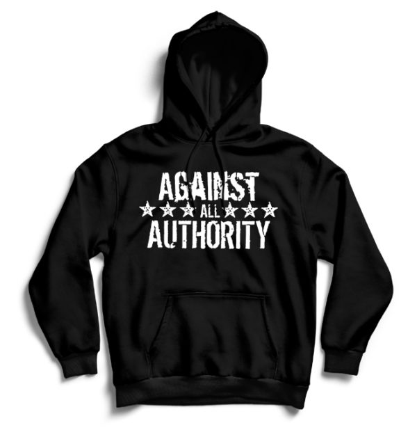 худи Against All Authority