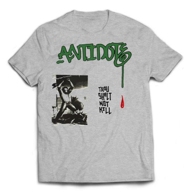 футболка серая Antidote