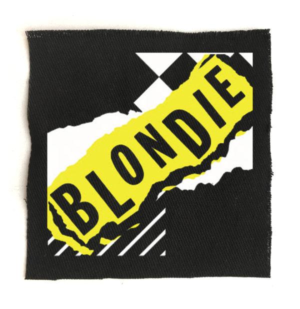 нашивка Blondie