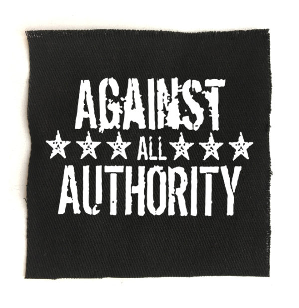 нашивка Against All Authority