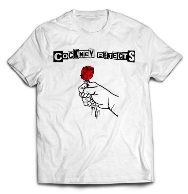 футболка белая Cocney Rejects