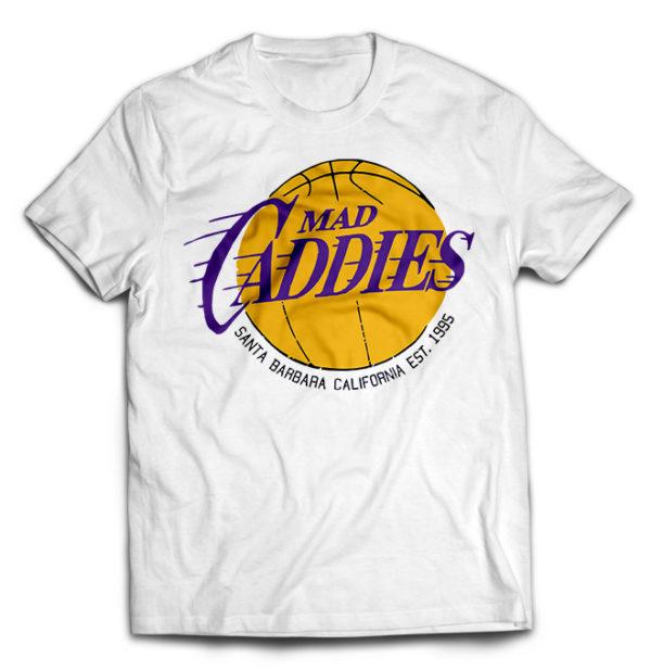 футболка белая Mad Caddis