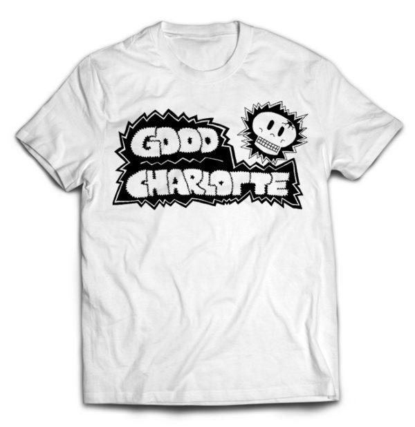 футболка белая Good Charlotte