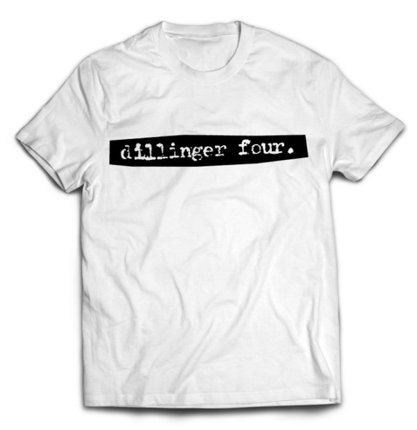 футболка белая Dillinger four