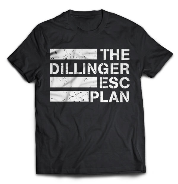 футболка The dillinger esc plan