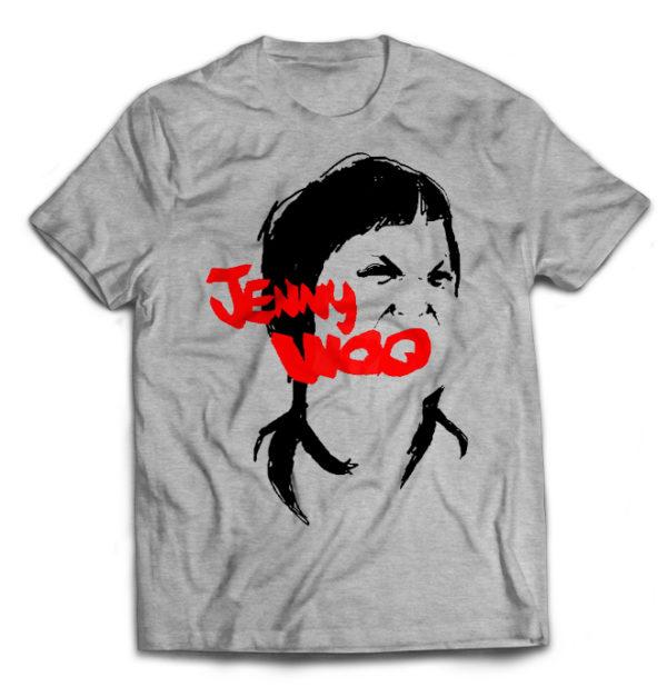 футболка серая Jenny Woo
