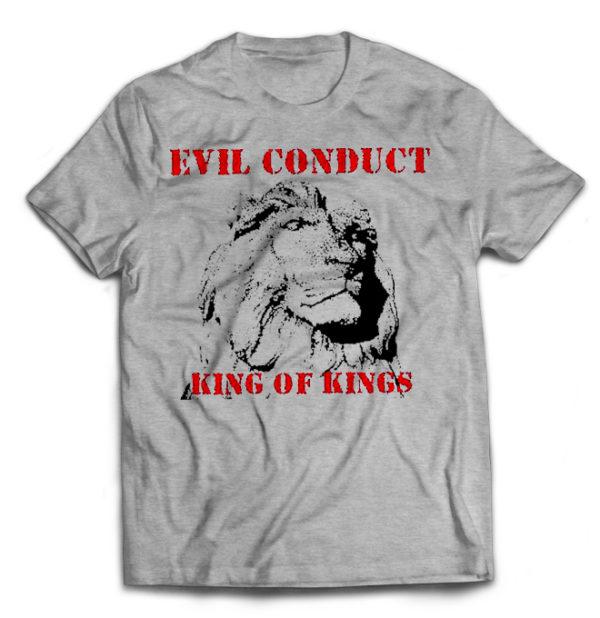 футболка серая Evil Conduct