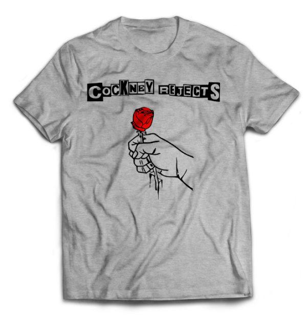 футболка серая Cocney Rejects