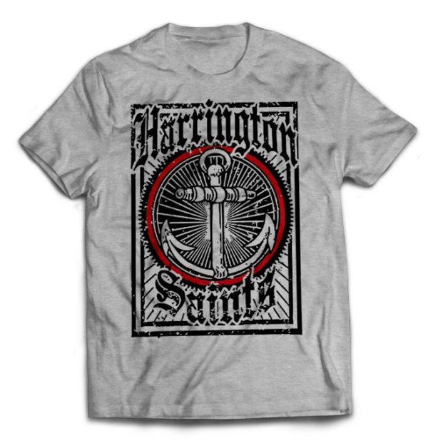 футболка серая Harrington Saints