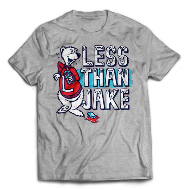 футболка серая Less Than Jake