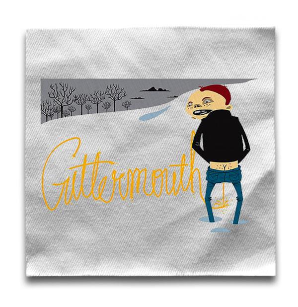 нашивка Guttermouth