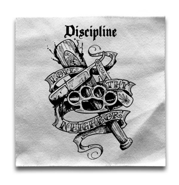 нашивка Discipline
