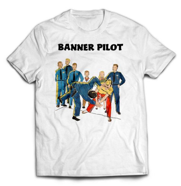 футболка белая Banner Pilot