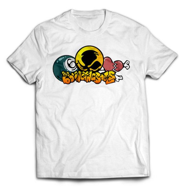 футболка белая Bouncing Souls