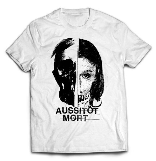 футболка белая Aussitiot Mort