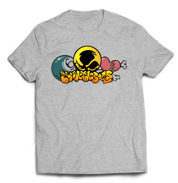 футболка серая Bouncing Souls