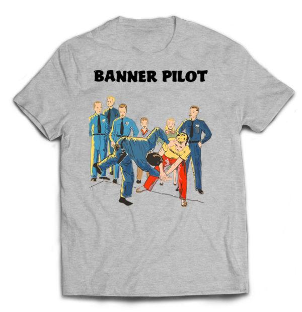 футболка серая Banner Pilot