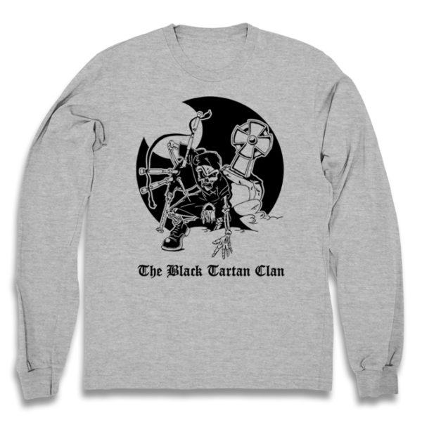 свитшот Black Tartan Clan