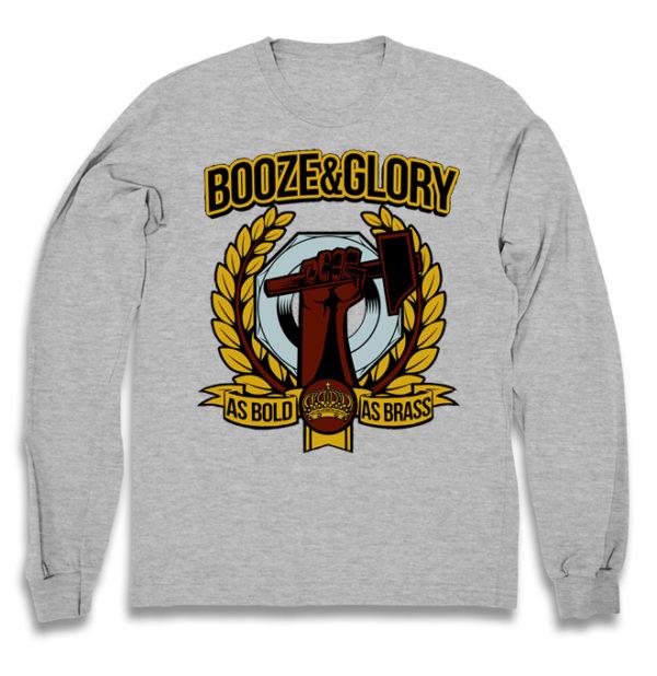 свитшот Booze & Glory