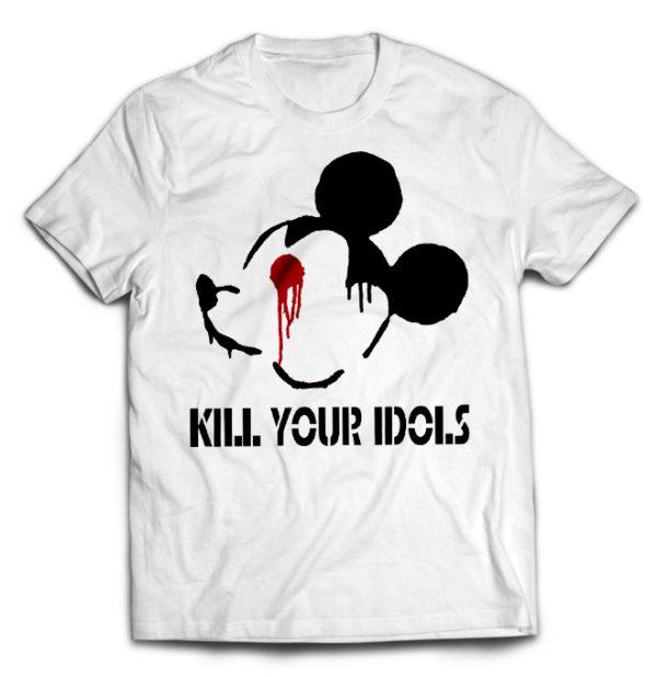 футболка белая Kill Your Idols