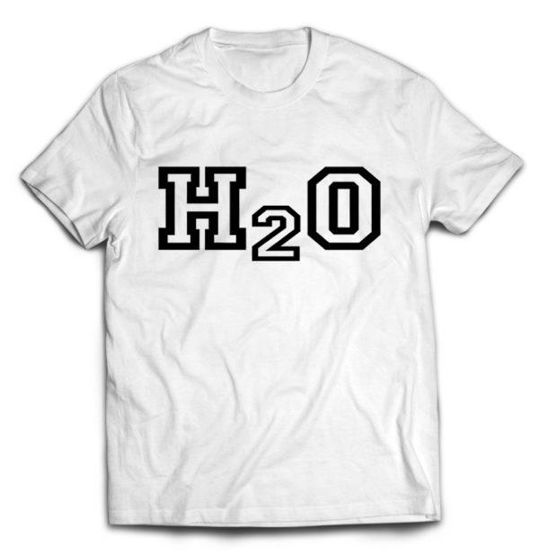 футболка белая H2O