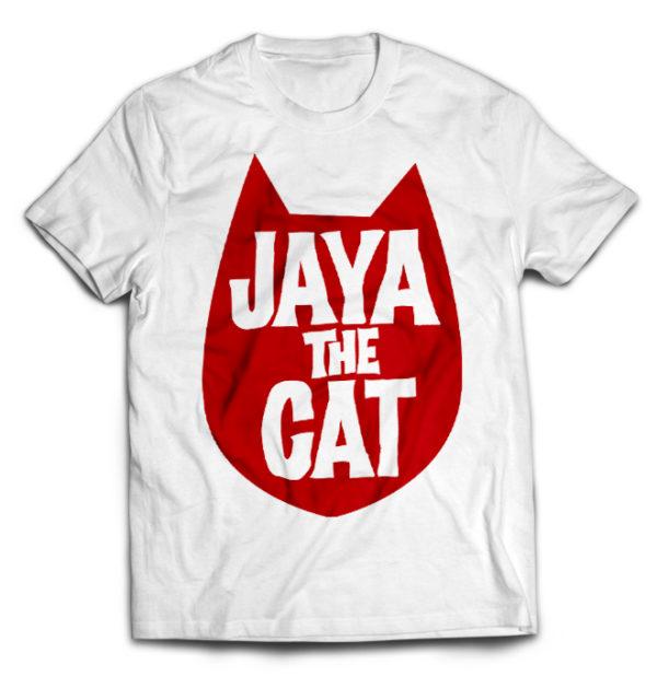 футболка белая Jaya the Cat