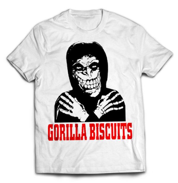 футболка белая Gorilla B