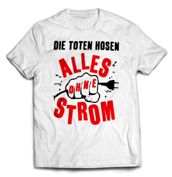 футболка белая Die Toten Hosen