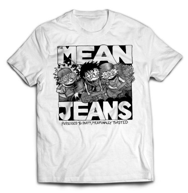футболка белая Mean_Jeans