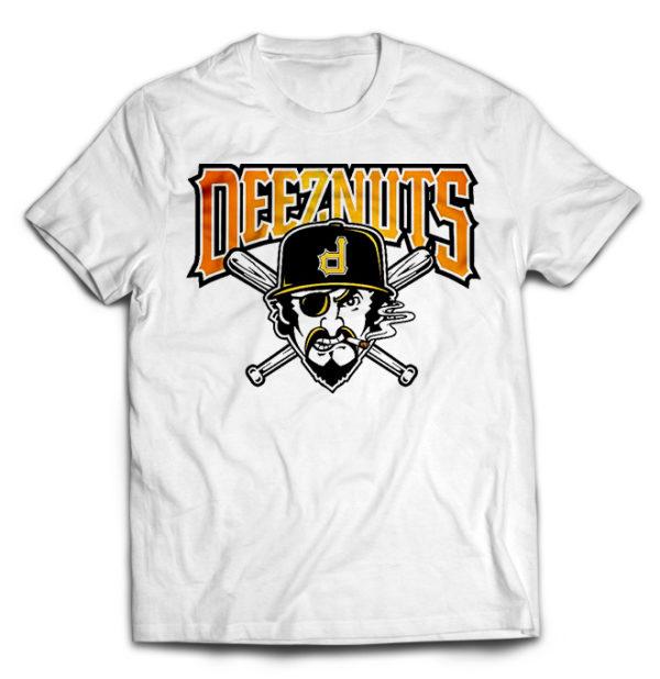 футболка белая Deez Nuts