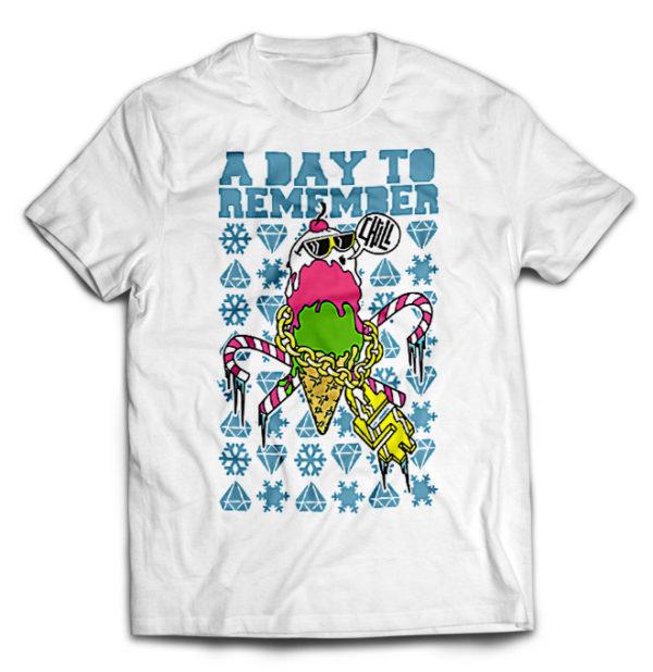 футболка белая Day to Remember