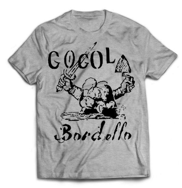 футболка серая Gogol Bordello