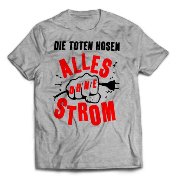 футболка серая Die Toten Hosen