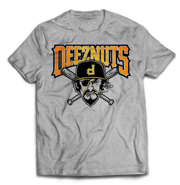 футболка серая Deez Nuts