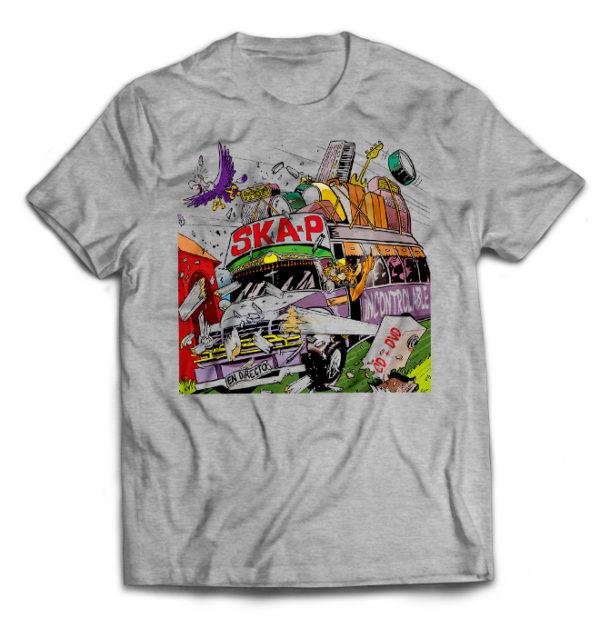 футболка серая Кa-p